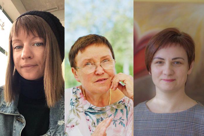 Илона Петкун, Елена Постернак и Линда Вингре
