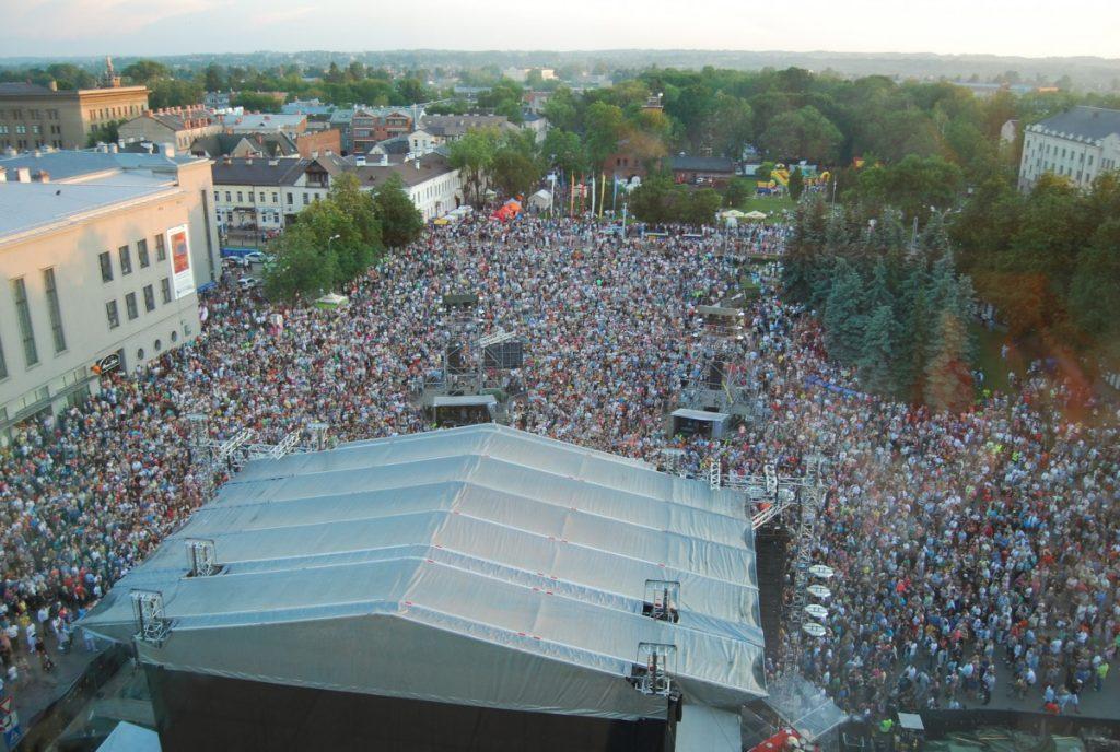 Праздник города в Даугавпилсе. Фото: Елена Иванцова