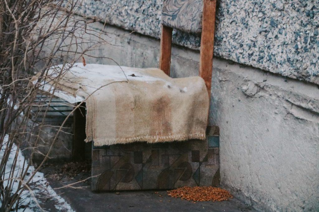 Даугавпилс, январь 2021 года. Фото: Настя Гавриленко