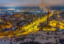 Даугавпилс. 1 февраля 2019 года. Фото: Евгений Ратков