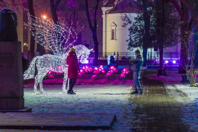Даугавпилс, 2 января 2021 года. Фото: Евгений Ратков