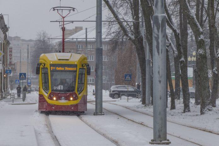 Даугавпилс, 8 января 2021 года. Фото: Евгений Ратков