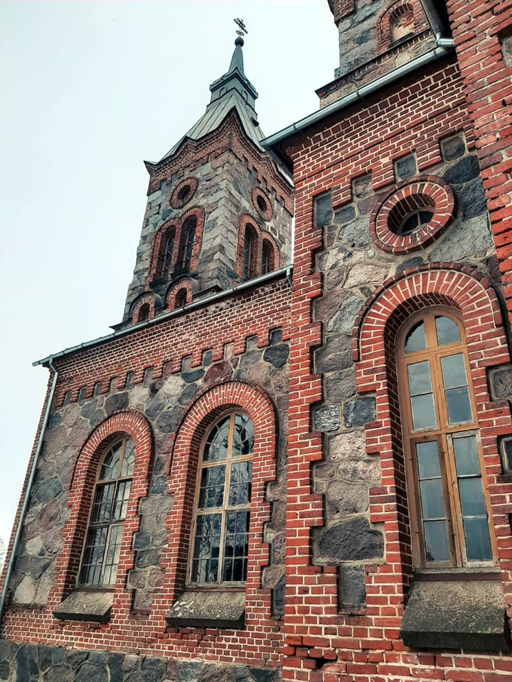 Православная церковь в Нитауре. Фото: Виктория Трофимова-Гаике