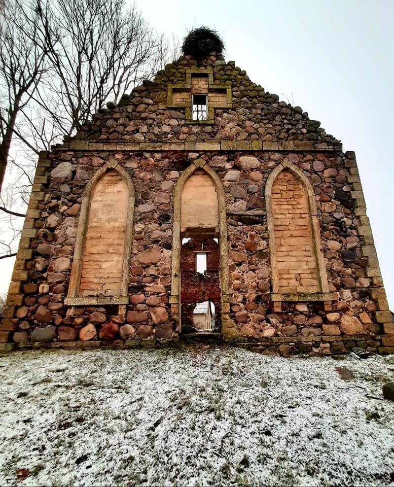 Руины Шведской церкви в Сигулдском крае. Фото: Виктория Трофимова-Гаике