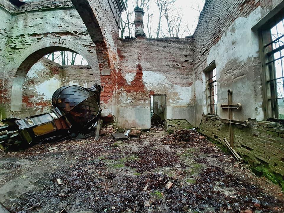 Развалины Сунтажской православной церкви. Фото: Виктория Трофимова-Гаике