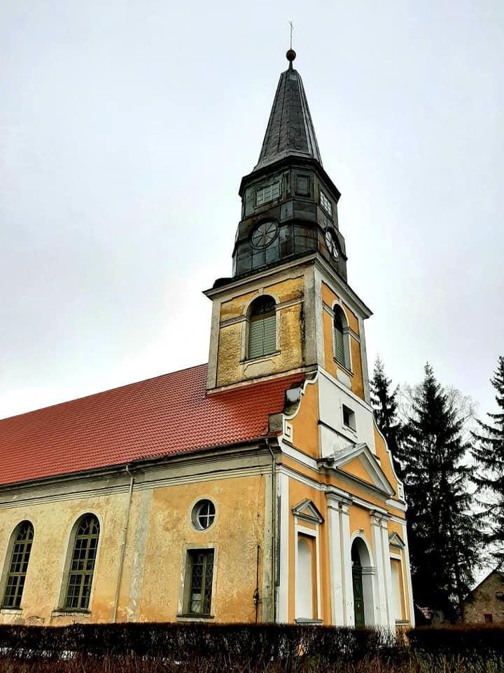 Сунтажская лютеранская церковь. Фото: Виктория Трофимова-Гаике