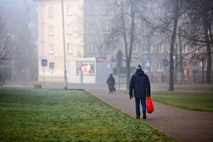 Даугавпилс. Ноябрь 2020 года. Фото: Сергей Соколов