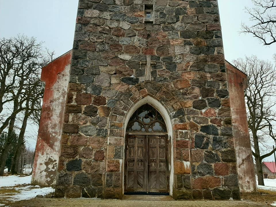Лютеранская церковь Заубе. Фото: Виктория Трофимова-Гаике
