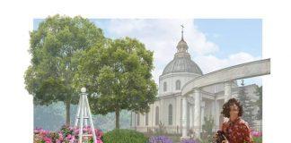 Эскиз будущих клумб в Даугавпилсе. Источник: Департамент городского планирования и строительства