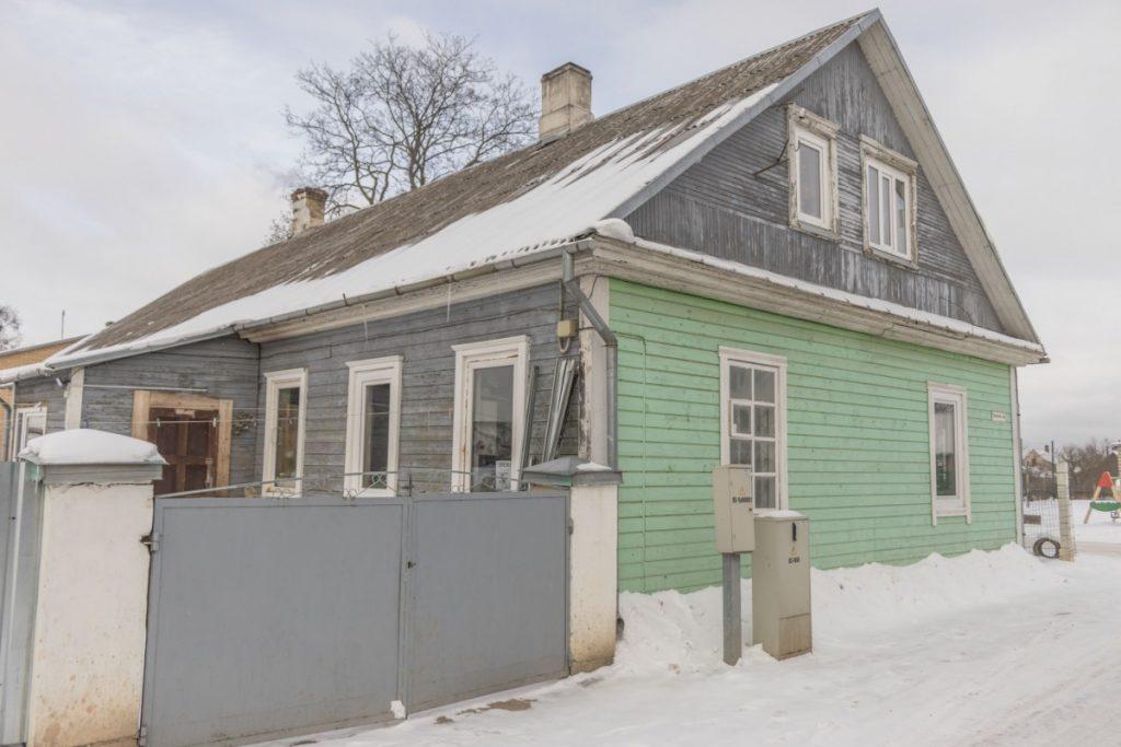 Дом на Юдовке, который пострадал в пожаре летом 2020 года. Фото: Евгений Ратков