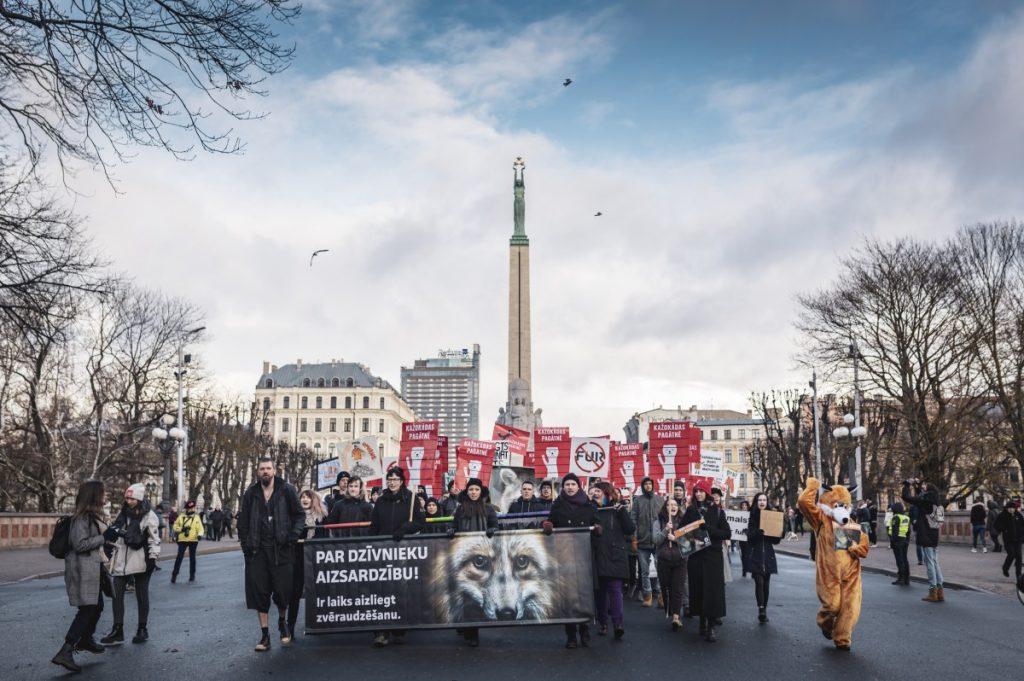 Шествие защитников животных в 2019 году. Фото: В.Изотов