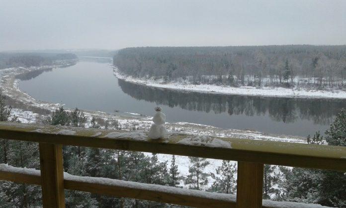 Вид со смотровой вышки в Васаргелишках. Фото: Елена Иванцова
