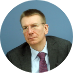Эдгар Ринкевич, министр иностранных дел (Новое Единство). Фото: Re:Baltica