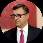 Янис Рейрс, министр финансов (Новое Единство). Фото: Re:Baltica