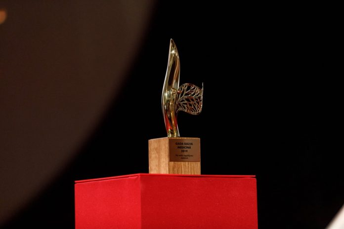 Премия года в медицине. Фото со страницы Latvijas Ārstu biedrība на фейсбуке