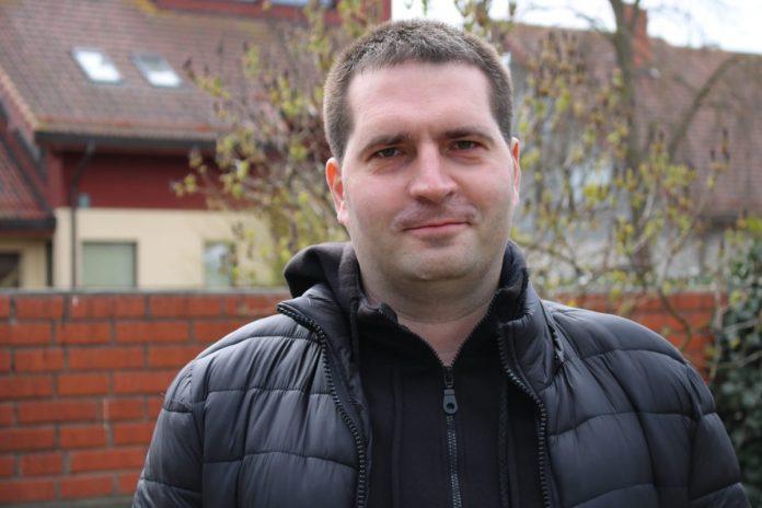 Илья Григорьев, журналист портала infoliepaja.lv. Фото из личного архива
