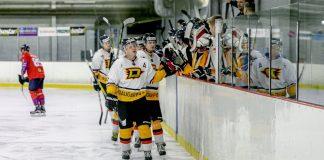 "Хоккейный клуб ""Динабург"". Фото: Optibet Hokeja Liga"