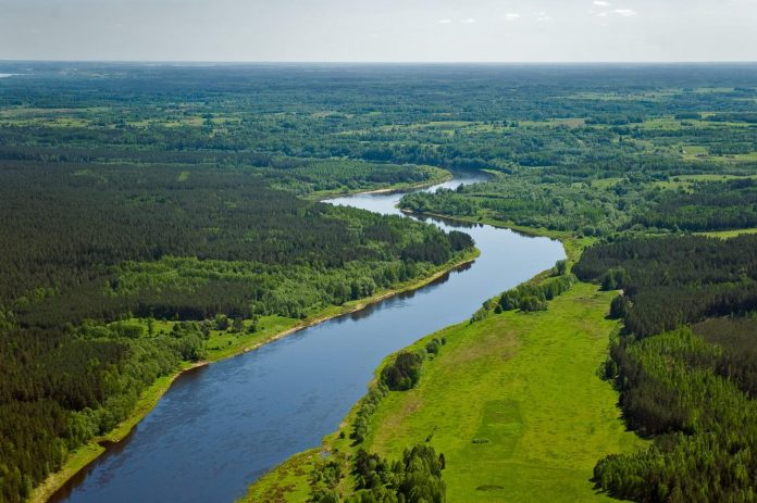 Природный парк «Daugavas loki»