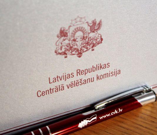 Выборы. Фото со страницы Centrālā vēlēšanu komisija на фейсбуке