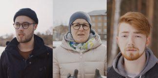 Иорен Добкевич, Виктория Козловска и Эдуард Бельников. Фото: Иварс Утинанс