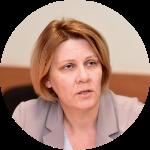 Дайна Мурмане-Умбрашко, госсекретарь Минздрава. Фото: Re:Baltica