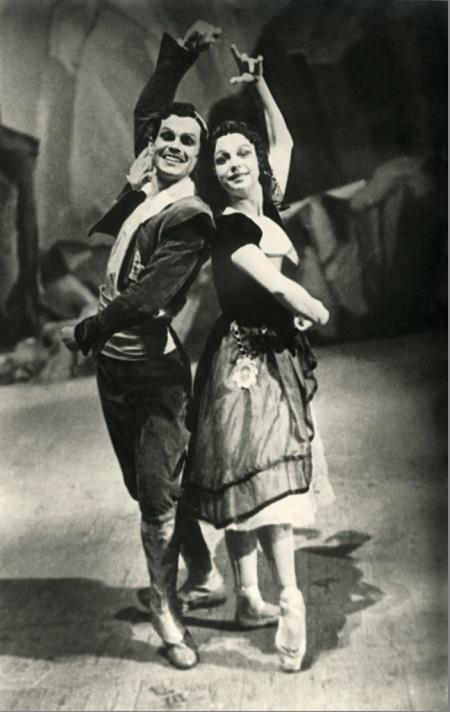 Александр Лембергс и Ольга Адамова. Фото из архива Латвийской Национальной оперы