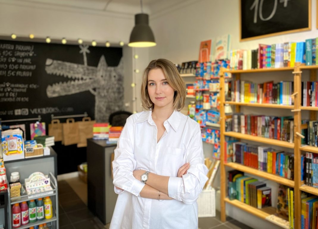 Арина Линданен, владелица Vilki books