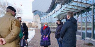 В Даугавпилсском Олимпийском центре будет работать центр вакцинации. Фото: daugavpils.lv