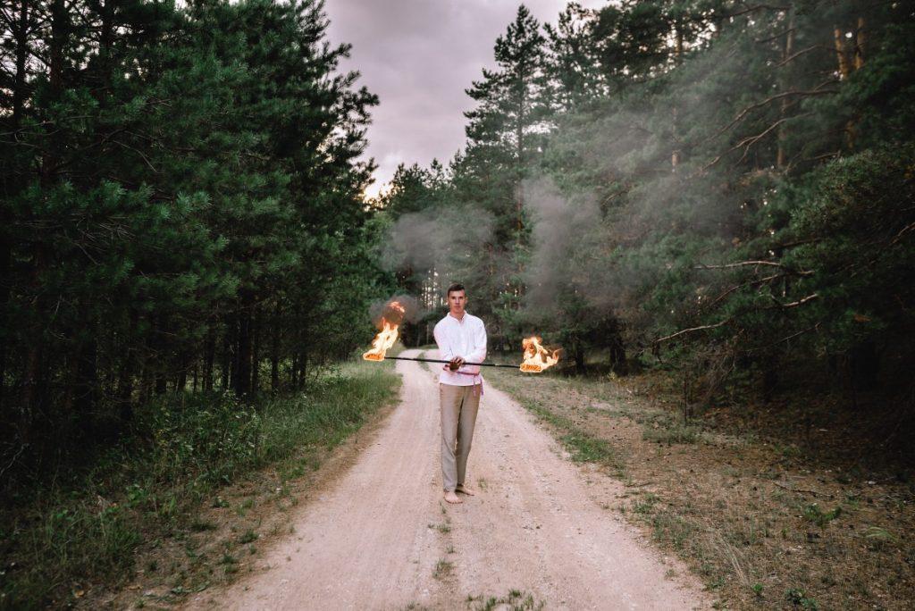 Fire Show studio. Фото: Эвия Андрушкевич