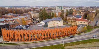 Школа «Саулес» заняла второе место в номинации «Новое общественное здание». Фото: daugavpils.lv