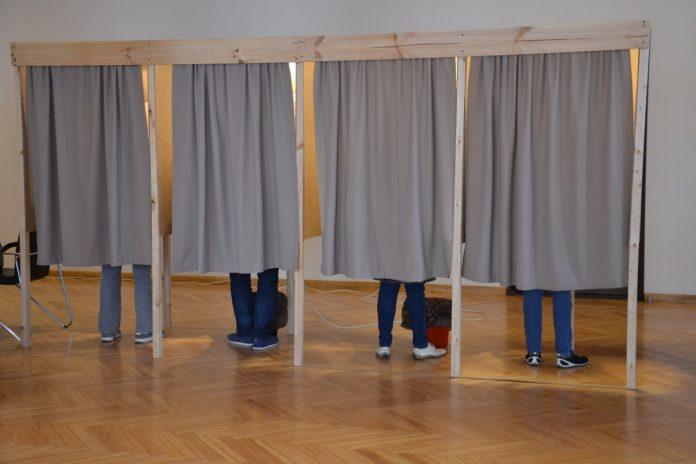 Муниципальные выборы в Даугавпилсе. 3 июня 2017 года. Фото Елены Иванцовой