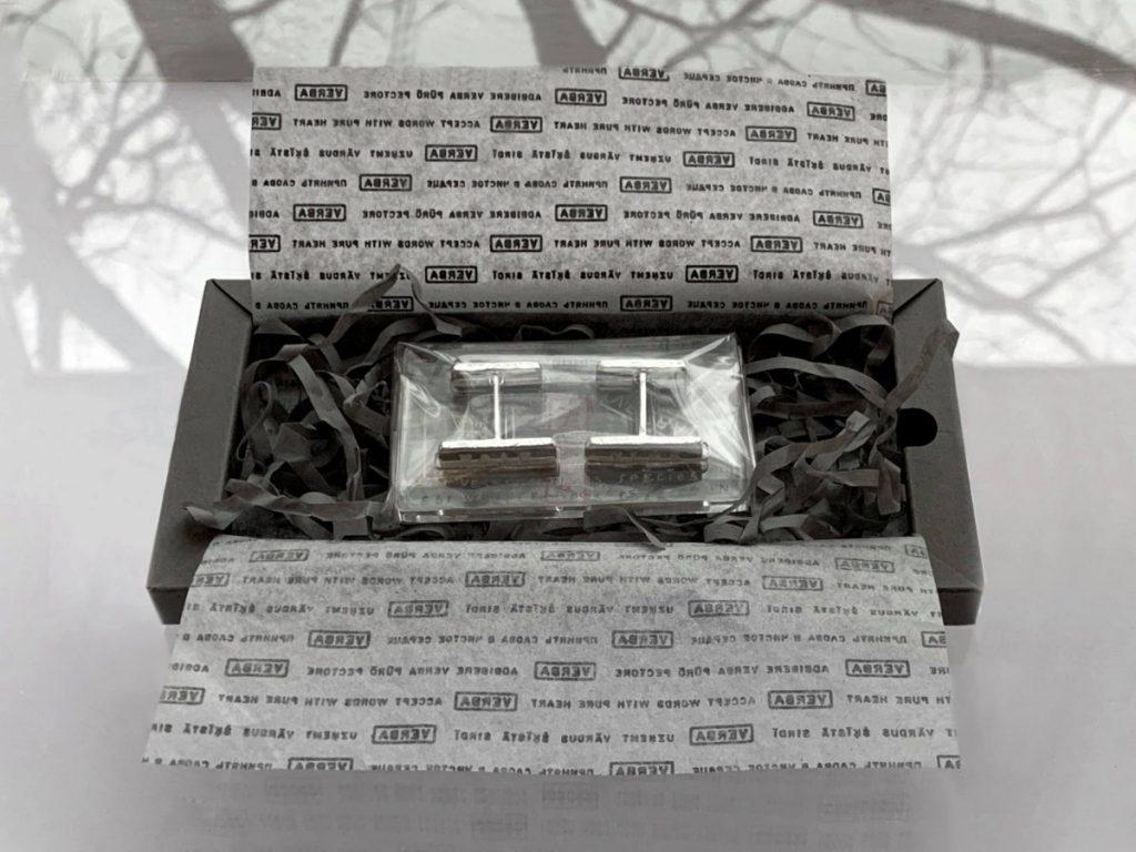 Запонки студии VERBA. Фото из архива Анны Фаныгиной