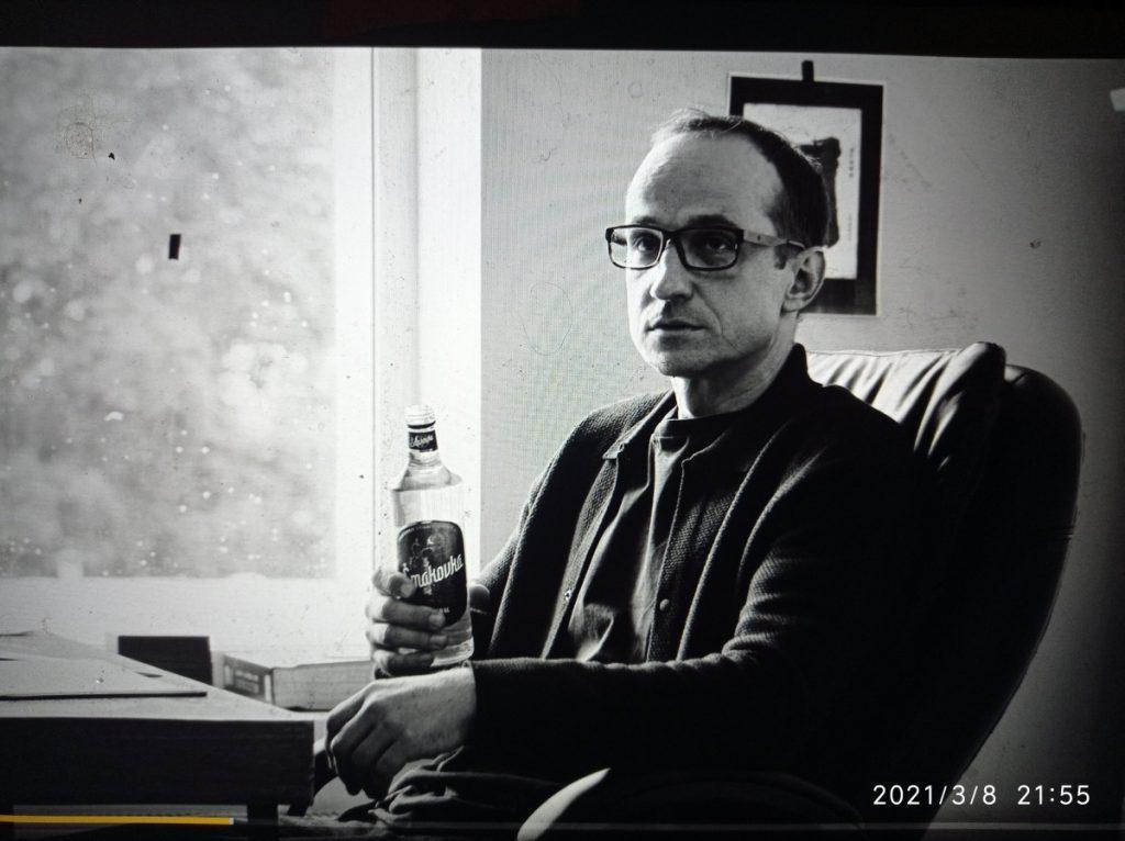 """Кадр из фильма Алвиса Херманиса """"Агентство"""". Фото: Андрей Шаврей"""