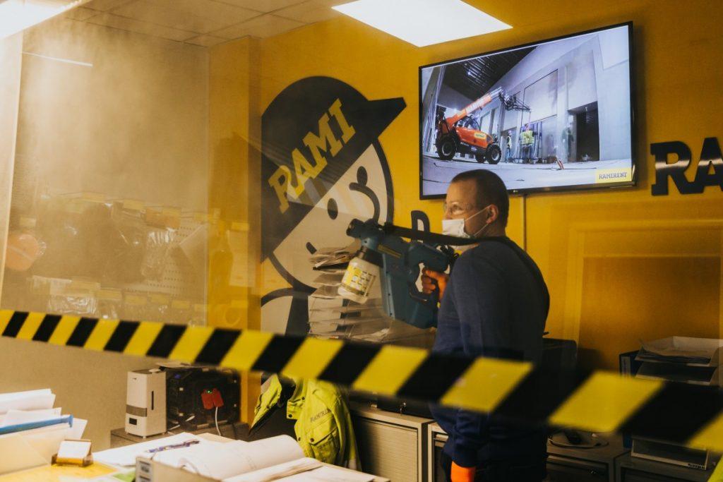 Olklin serviss. Пистолет-распылитель E-Spray Electrostatic. Фото: Ирина Маскаленко