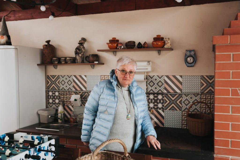 Хозяйка дома Lorem, Елена Флейшере