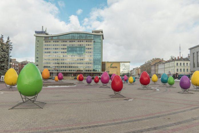 Пасха. Даугавпилс, 22 марта 2021 года. Фото: Евгений Ратков