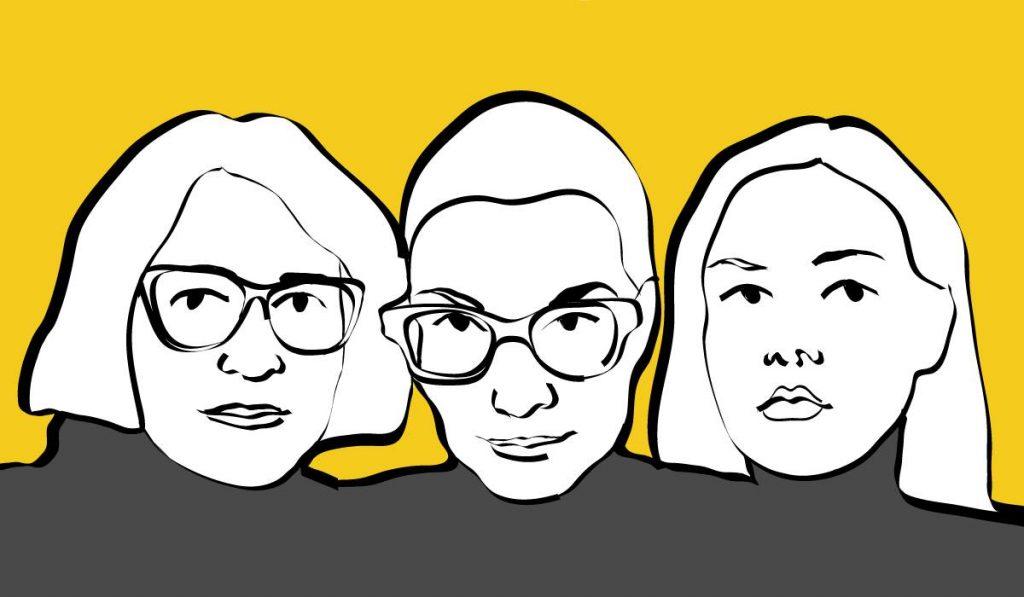 Анна Аузиня, Мария Луизе Мельке и Инга Гайле. Фото со страницы мероприятия на фейсбуке
