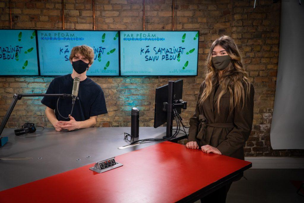 """Алексис Вильциньш и Катрина Лауга, программа """"Zeme 2050"""". Пресс-фото"""