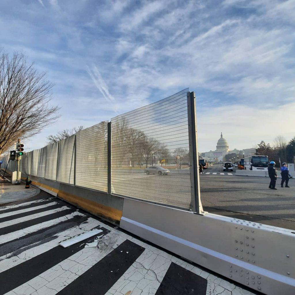 Вашингтон, январь 2021 года. Фото с личной страницы Артёма Конохова на фейсбуке