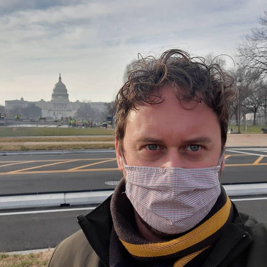 Артём Конохов в Вашингтоне. Фото с личной страницы на фейсбуке