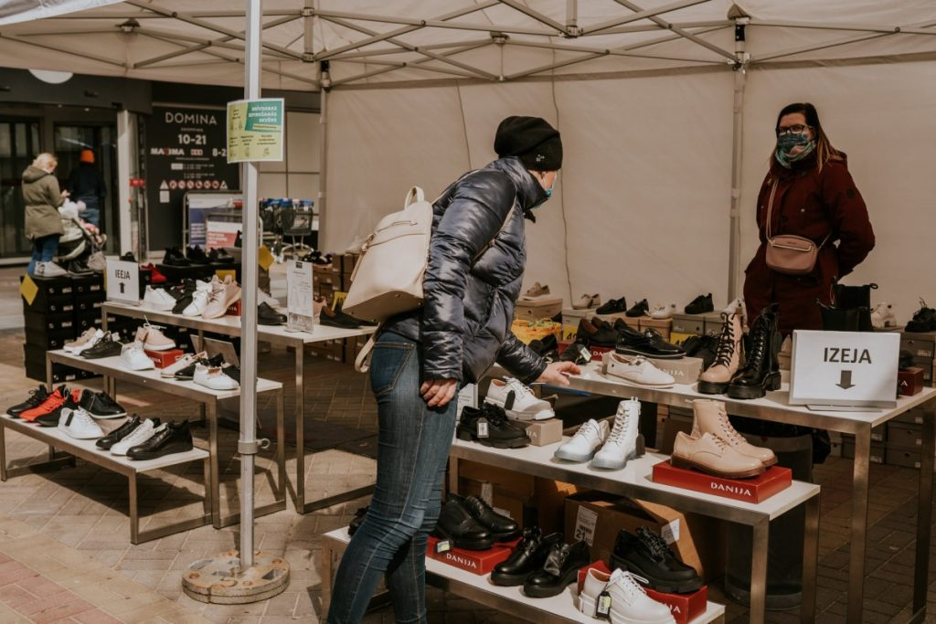 Фото со страницы Domina Shopping на фейсбуке