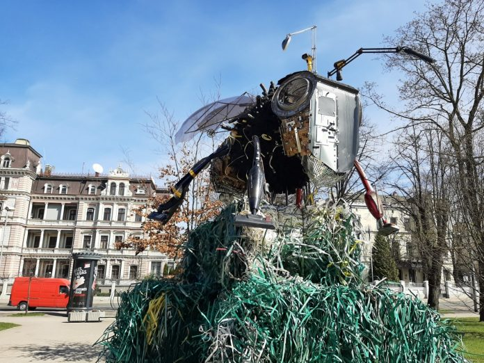 Арт-объект в Риге в рамках кампании