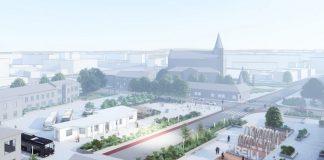 Проект реконструкции центра Прейли. Фото: preili.lv