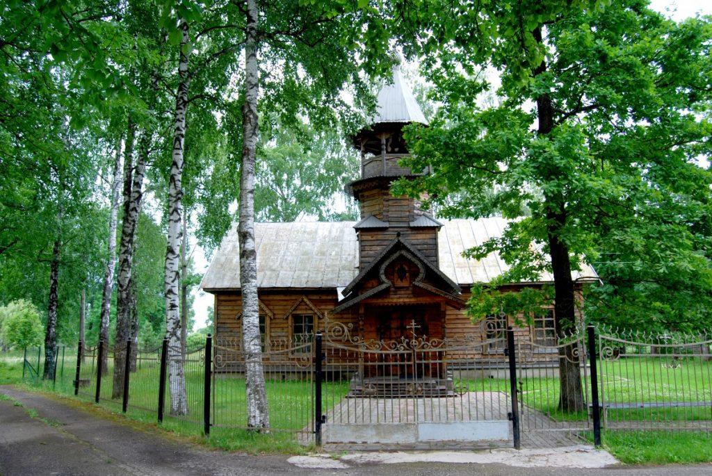 Храм преподобной Ефросиньи Полоцкой. Фото: Елена Иванцова