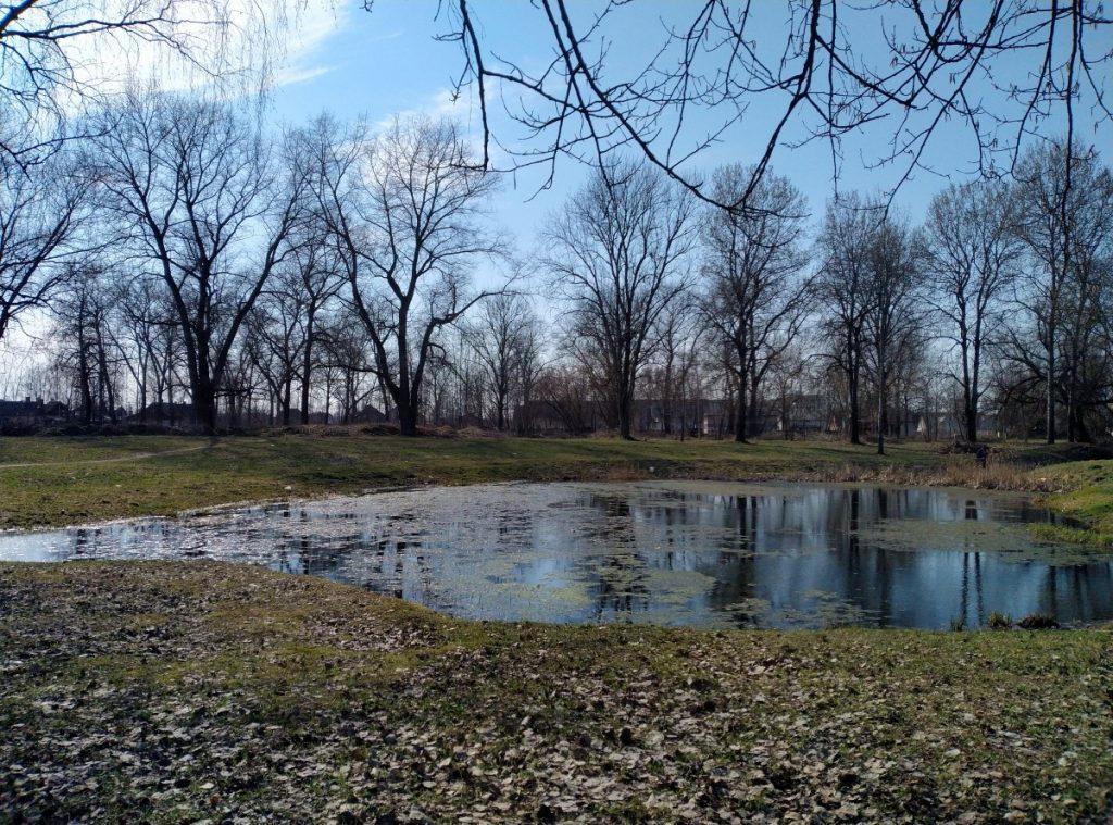 Парк Авотиню в Даугавпилсе. 26 апреля 2021 года. Фото: Елена Иванцова