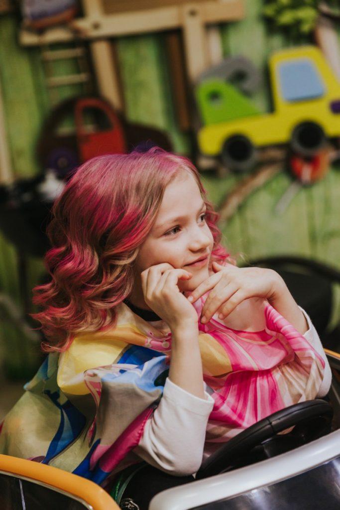 Парикмахерская в Даугавпилсе Buba Kids. Фото: Ирина Маскаленко