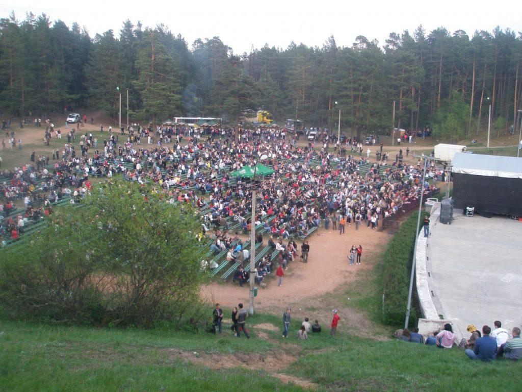 """Концерт группы """"Сплин"""" на эстраде. Май 2008 года. Фото Елены Иванцовой"""