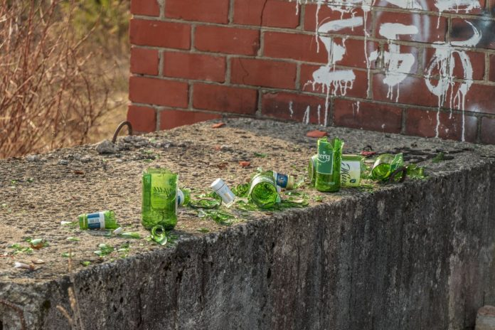 Свалка в Даугавпилсе. 11 апреля 2021 года. Фото: Евгений Ратков