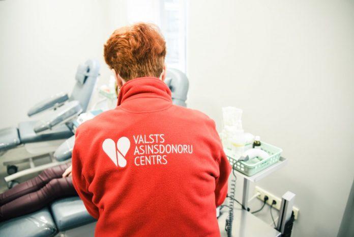 Донорский центр. Фото: Valsts asinsdonoru centrs