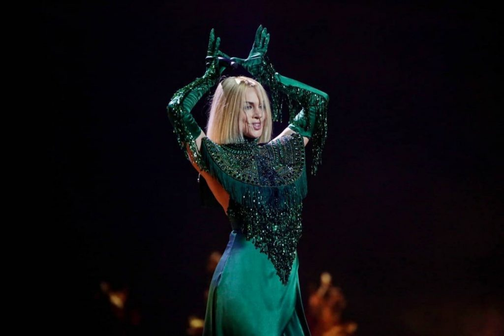 Саманта Тина. Фото: euroinvision.com